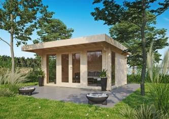 BEST SELLER | Cosy Garden House BARBARA 44 A | 4.2 x 3.3 m (13'7'' x 10'10'') 44 mm